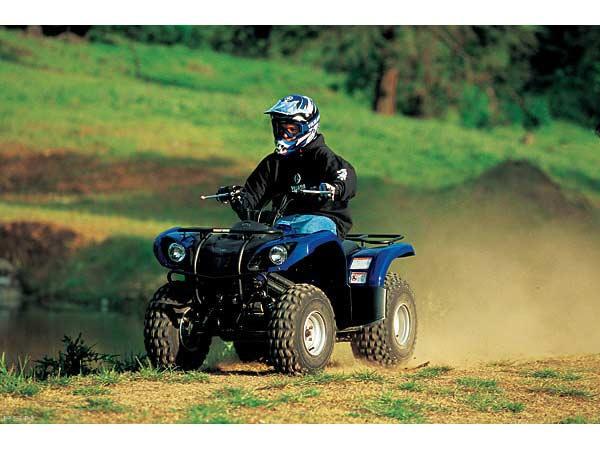 2006 Yamaha Grizzly 125 Automatic ATVs Albert Lea Minnesota 0717-02U