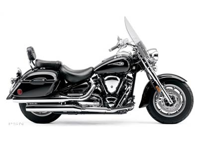 2007 Yamaha Road Star Midnight Silverado® in Athens, Ohio