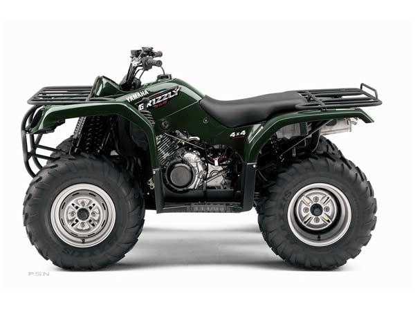 2008 Yamaha Grizzly 350 Auto. 4x4 2