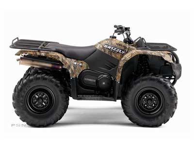 2008 Yamaha Grizzly 450 Auto. 4x4 in Sandpoint, Idaho