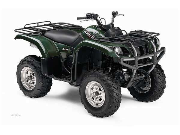 2008 Yamaha Grizzly 660 Auto. 4x4 in Brookhaven, Mississippi