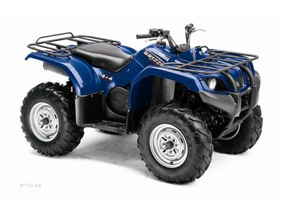 2009 Yamaha Grizzly 350 Auto. 4x4 IRS in Keokuk, Iowa