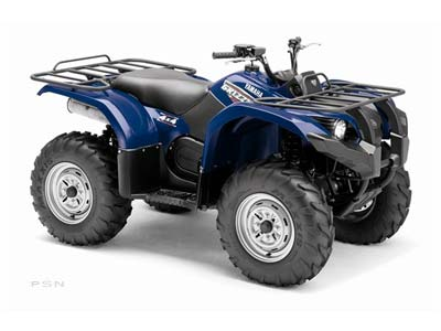2009 Yamaha Grizzly 450 Auto. 4x4 IRS in Lancaster, New Hampshire