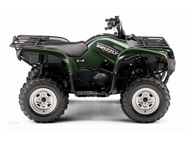 2009 Yamaha Grizzly 550 FI Auto. 4x4 EPS in Sandpoint, Idaho - Photo 1