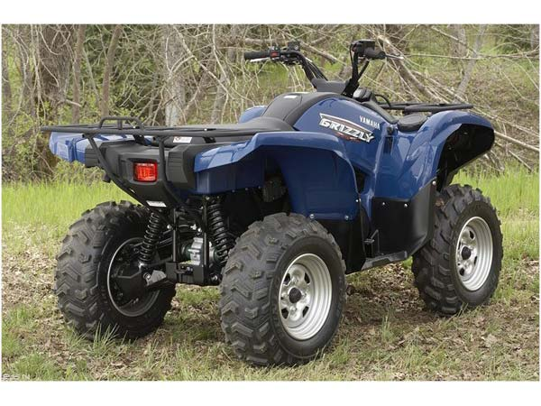 2009 Yamaha Grizzly 550 FI Auto. 4x4 EPS in Sandpoint, Idaho - Photo 10