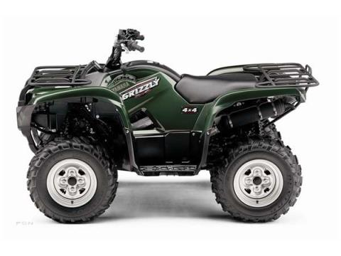 2009 Yamaha Grizzly 550 FI Auto. 4x4 EPS in Sandpoint, Idaho - Photo 2