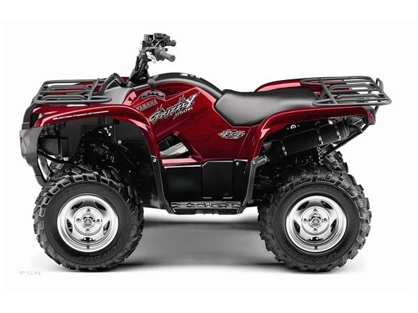 2009 Yamaha Grizzly 550 FI Auto. 4x4 EPS Special Edition in Tyrone, Pennsylvania - Photo 8