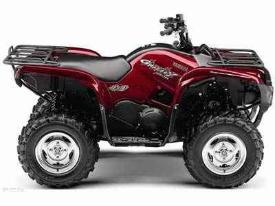 2009 Yamaha Grizzly 550 FI Auto. 4x4 EPS Special Edition in Tyrone, Pennsylvania - Photo 7