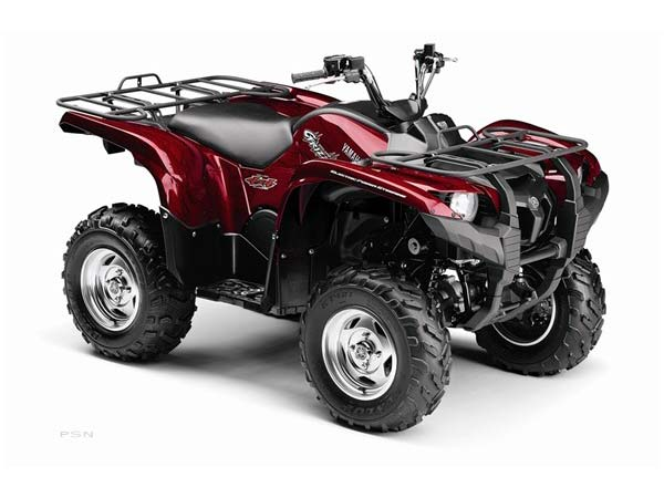 2009 Yamaha Grizzly 550 FI Auto. 4x4 EPS Special Edition in Tyrone, Pennsylvania - Photo 9