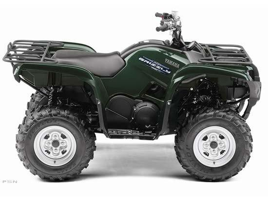 2011 Yamaha Grizzly 700 FI Auto. 4x4 EPS in Keokuk, Iowa