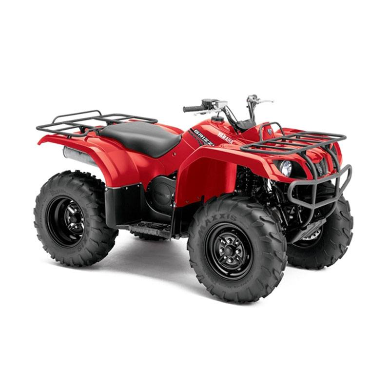New 2014 Yamaha Grizzly 350 2WD ATVs in Red for Sale