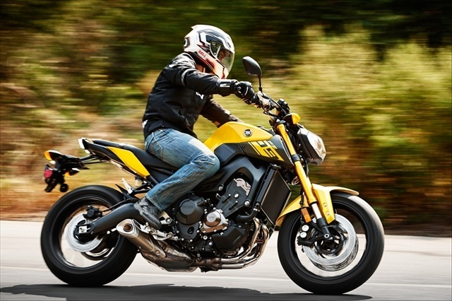2015 Yamaha FZ-09 in Brooklyn, New York