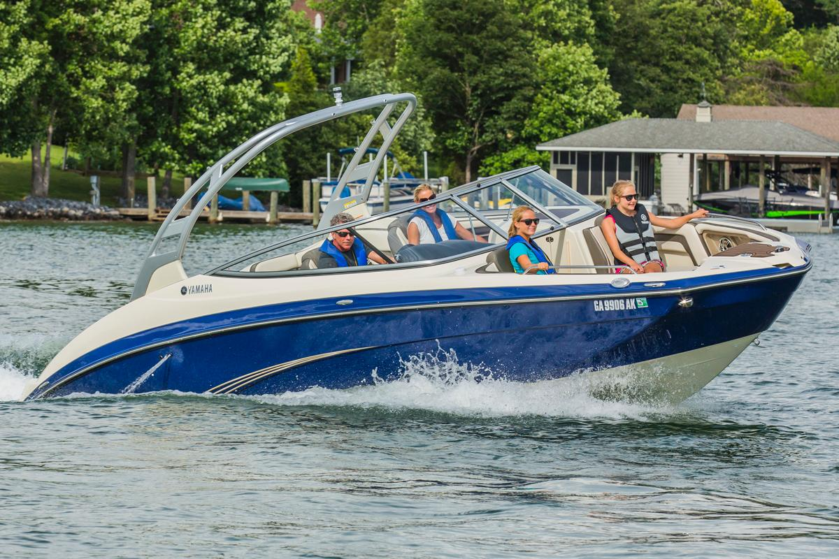 2015 Yamaha 242 Limited S in Bridgeport, New York