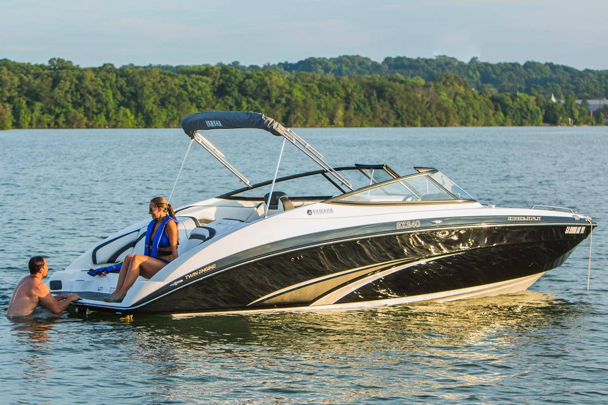 2015 Yamaha SX240 HO in Madisonville, Louisiana