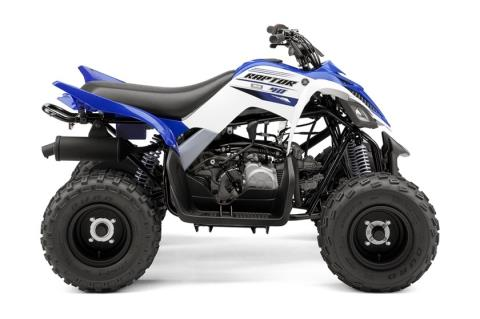 2016 Yamaha Raptor 90 in Shawano, Wisconsin