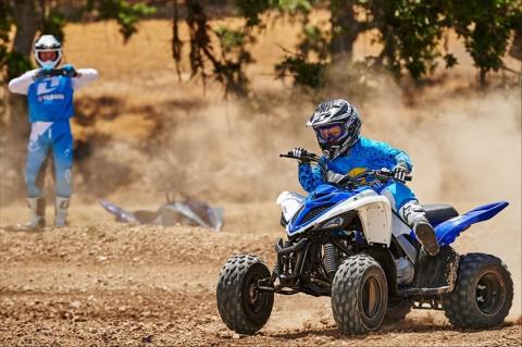 2016 Yamaha Raptor 90 in Sterling, Illinois