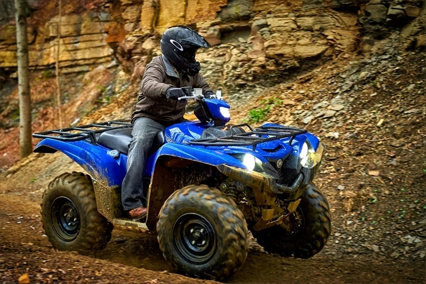 2016 Yamaha Grizzly EPS in Roseville, California