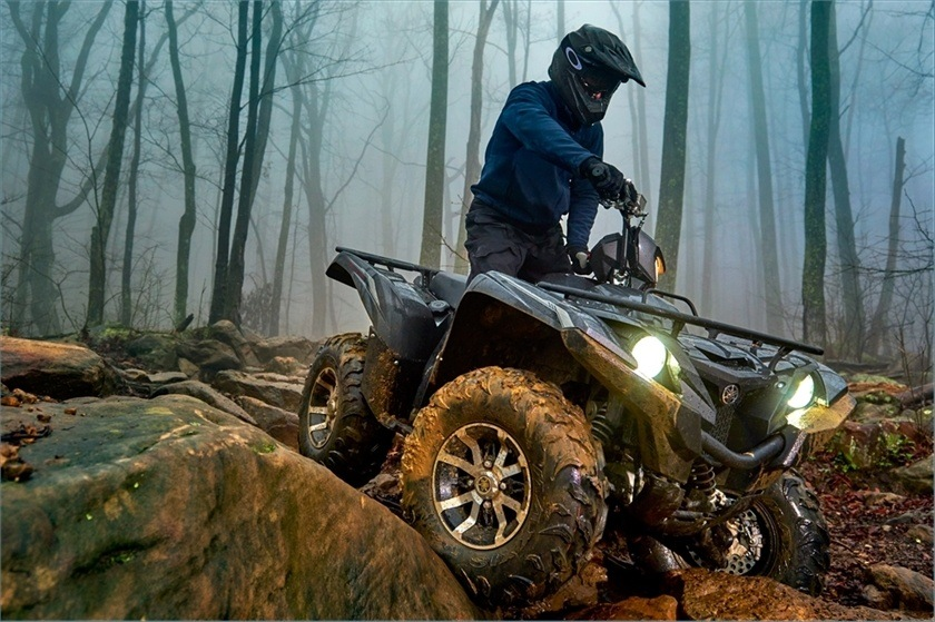2016 Yamaha Grizzly EPS SE in Bristol, Virginia