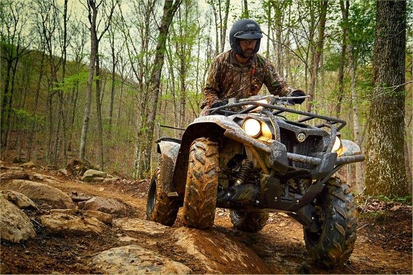 2016 Yamaha Kodiak 700 EPS in Baldwin, Michigan