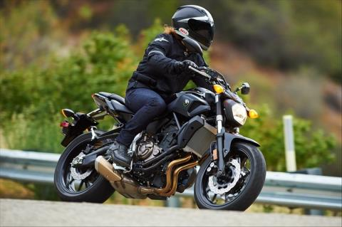 2016 Yamaha FZ-07 in Greenville, South Carolina