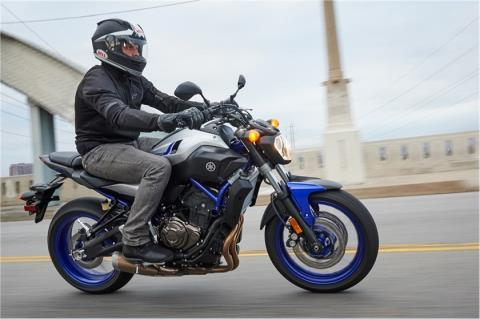 2016 Yamaha FZ-07 in Coloma, Michigan