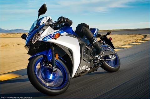 2016 Yamaha YZF-R3 in Derry, New Hampshire