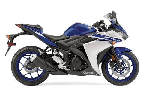 2016 Yamaha YZF-R3 in Baldwin, Michigan