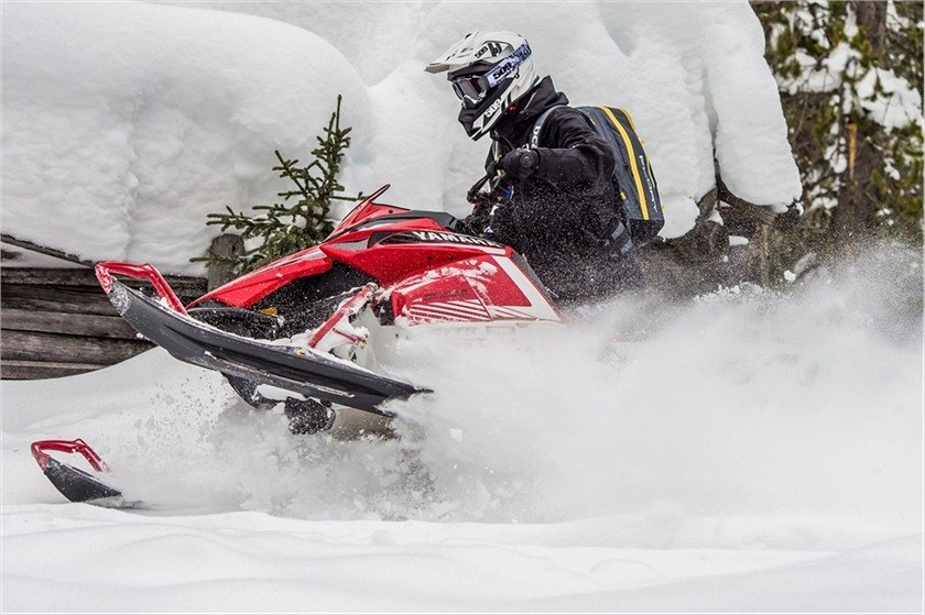 2016 Yamaha SRViper M-TX 141 SE in Derry, New Hampshire