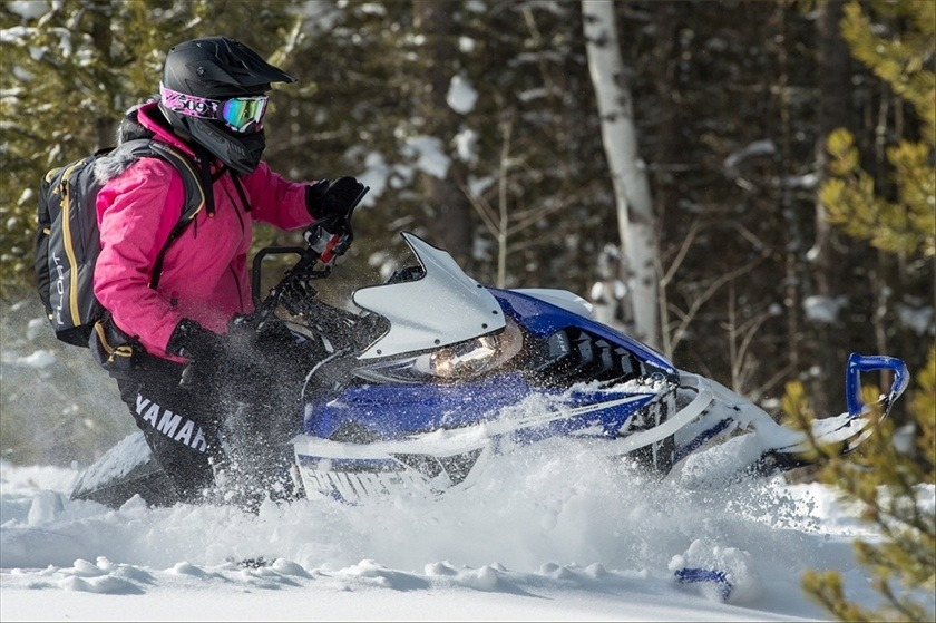 2016 Yamaha SRViper M-TX 153 SE in Derry, New Hampshire