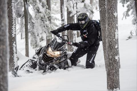 2016 Yamaha SRViper M-TX 162 in Derry, New Hampshire