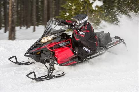 2016 Yamaha SRViper S-TX 137 DX in Escanaba, Michigan