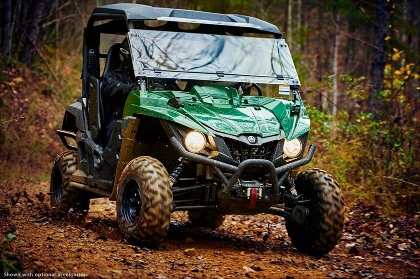 2016 Yamaha Wolverine R-Spec EPS in Lowell, North Carolina