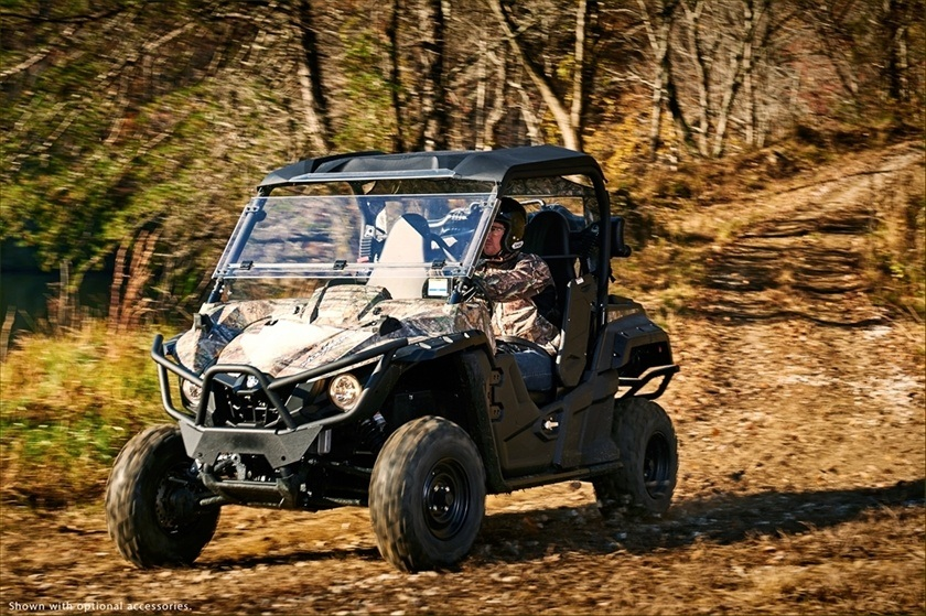 2016 Yamaha Wolverine R-Spec EPS Hunter in Manheim, Pennsylvania