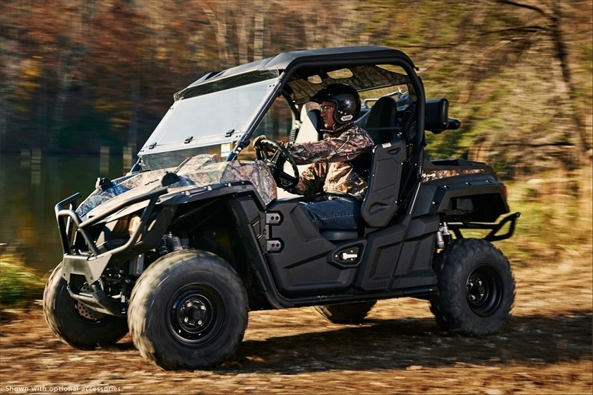 2016 Yamaha Wolverine R-Spec EPS Hunter in Monroe, Washington