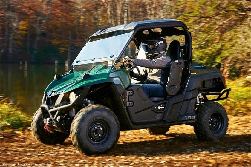 2016 Yamaha Wolverine R-Spec EPS Hunter in Tyrone, Pennsylvania