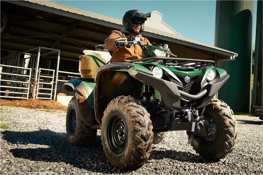 2017 Yamaha Grizzly EPS in Canton, Ohio