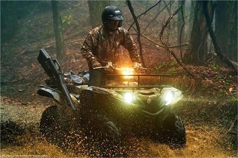 2017 Yamaha Grizzly EPS in Derry, New Hampshire