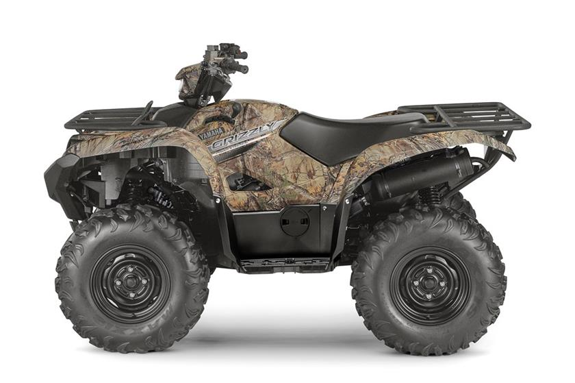 2017 Yamaha Grizzly EPS in Phillipston, Massachusetts