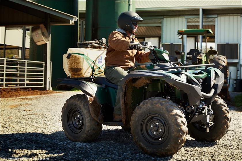 2017 Yamaha Grizzly EPS in Merced, California