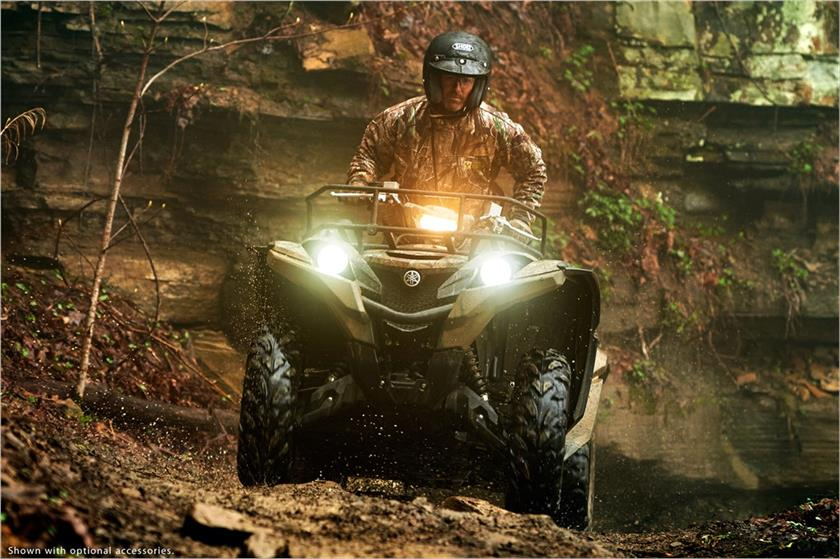 2017 Yamaha Grizzly EPS in Trego, Wisconsin