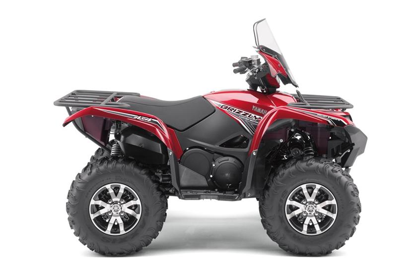 2017 Yamaha Grizzly EPS LE in Belle Plaine, Minnesota