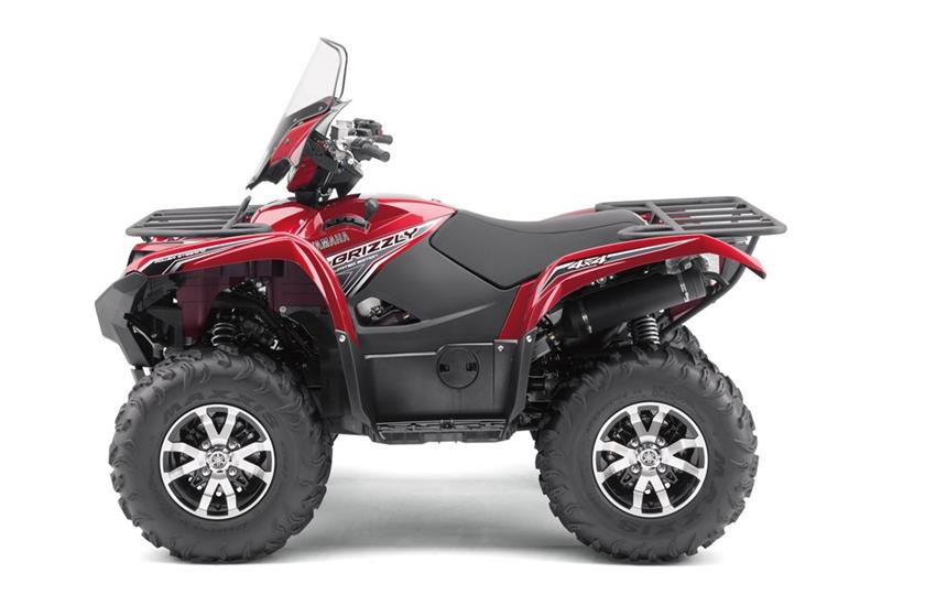2017 Yamaha Grizzly EPS LE in Findlay, Ohio