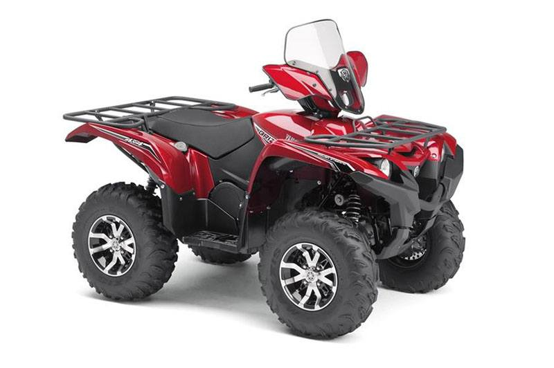 2017 Yamaha Grizzly EPS LE in New Haven, Connecticut