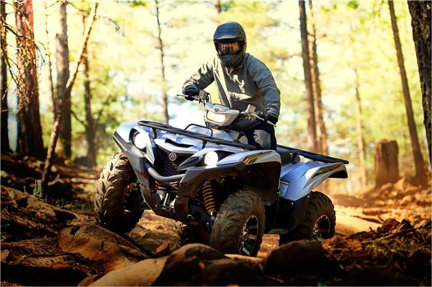 2017 Yamaha Grizzly EPS SE in Springfield, Ohio