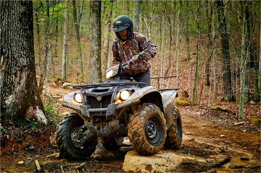2017 Yamaha Kodiak 700 EPS in Geneva, Ohio