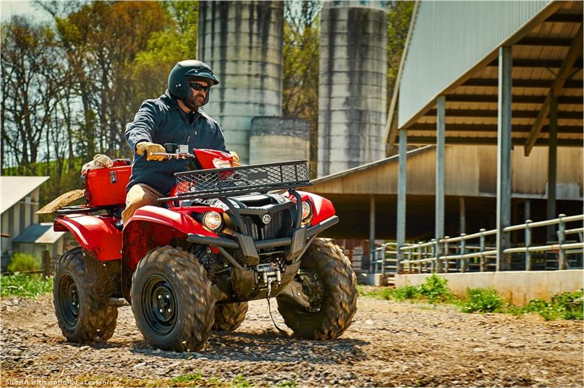2017 Yamaha Kodiak 700 EPS in Appleton, Wisconsin