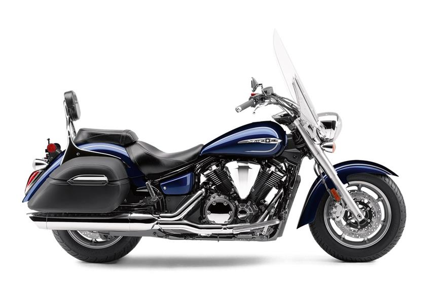 2017 Yamaha V Star 1300 Tourer in Derry, New Hampshire