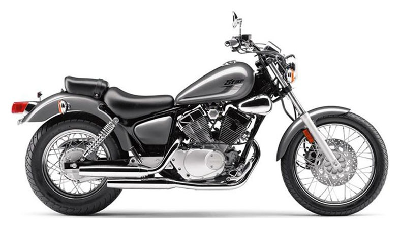 New 2017 Yamaha V Star 250 Motorcycles in Frost Silver for Sale