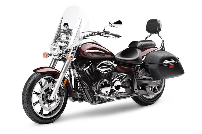 2017 Yamaha V Star 950 Tourer in Derry, New Hampshire