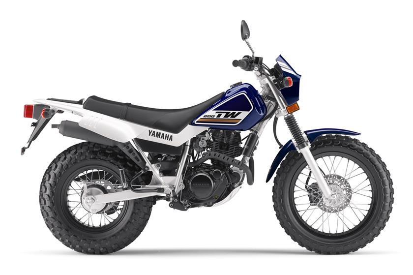 2017 Yamaha TW200 in Utica, New York